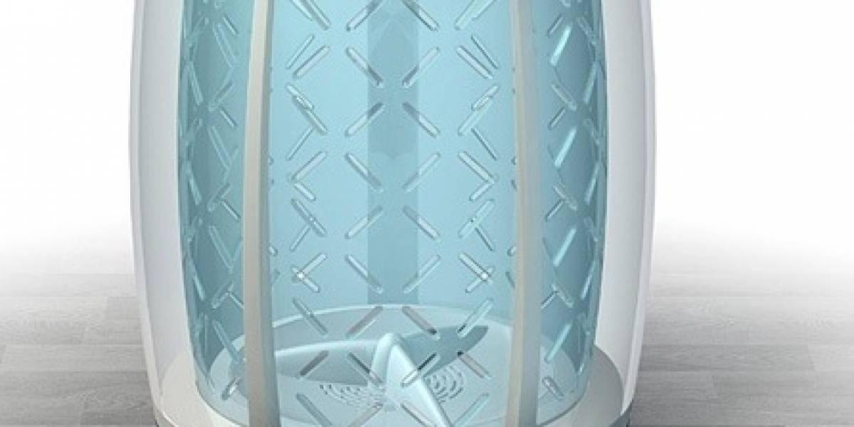 iBasket: Concepto de lavadora automática Wi-Fi