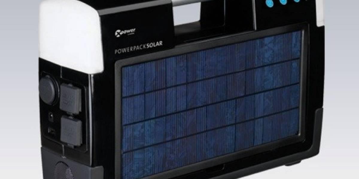 XPower Powerpack Solar: Energía solar portátil