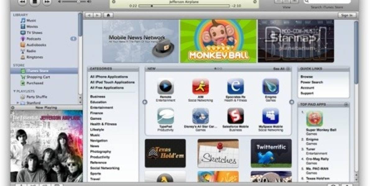 iTunes Store llega a Latinoamérica pero sin música