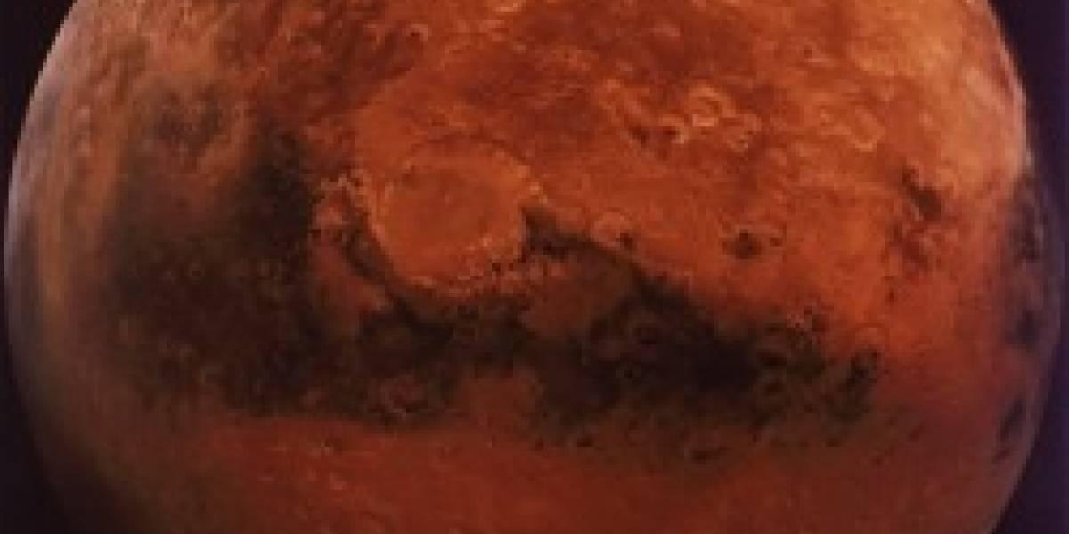 El agua de Marte es salada...