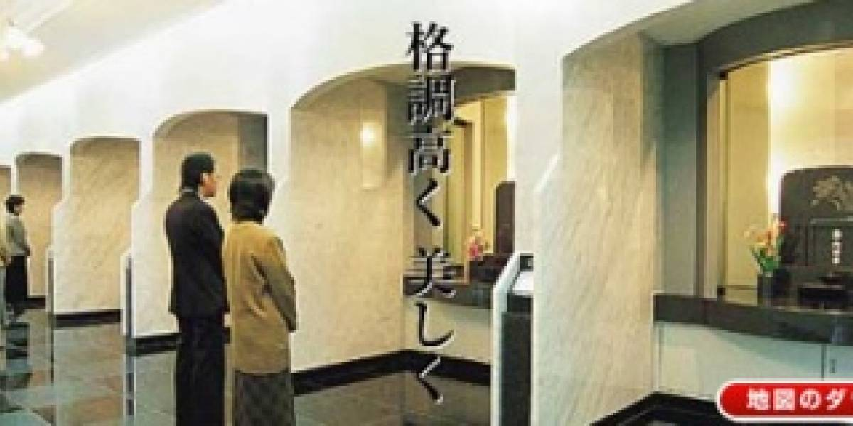 Cementerio japonés optimiza el espacio con tecnología