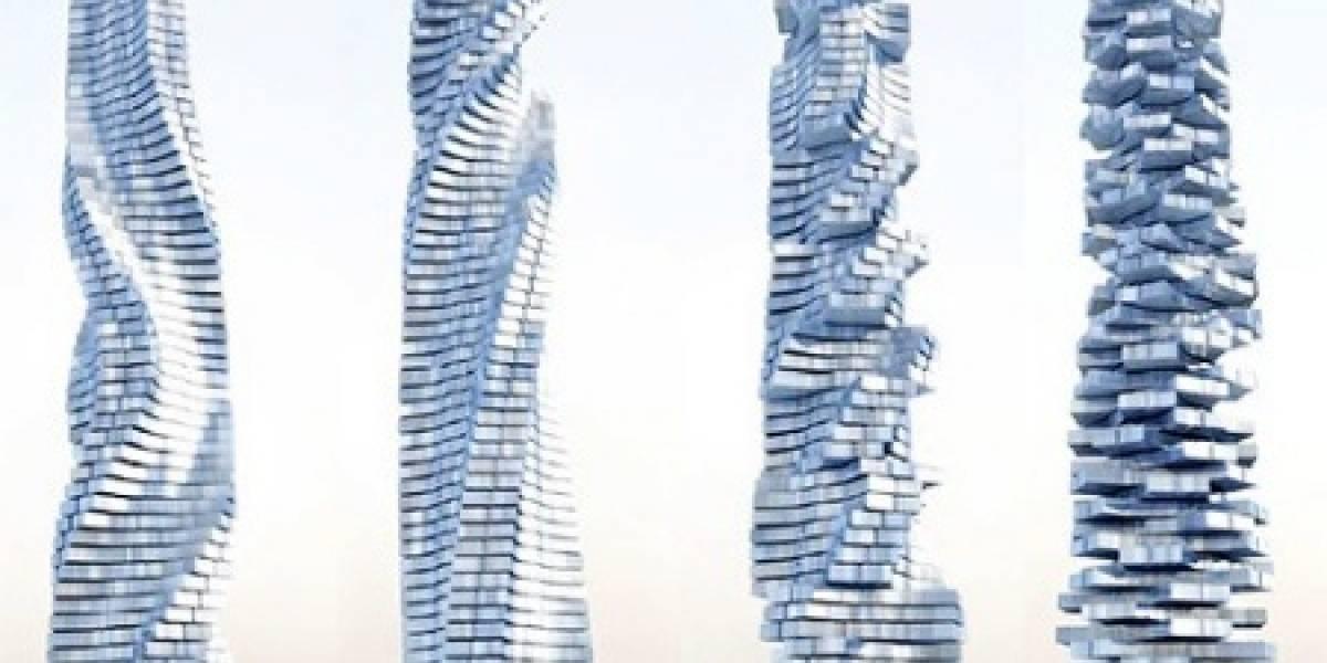 Dynamic Tower de Dubai: Un edificio que gira para cambiar de forma