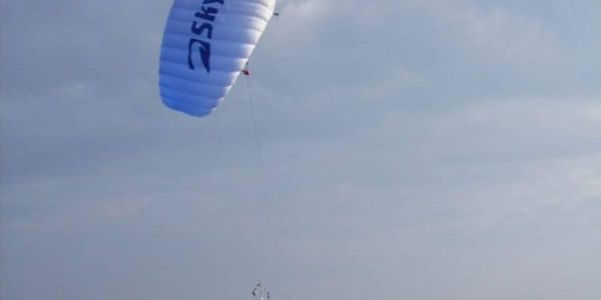 Primera prueba trasatlántica del Beluga Skysails resulta exitosa