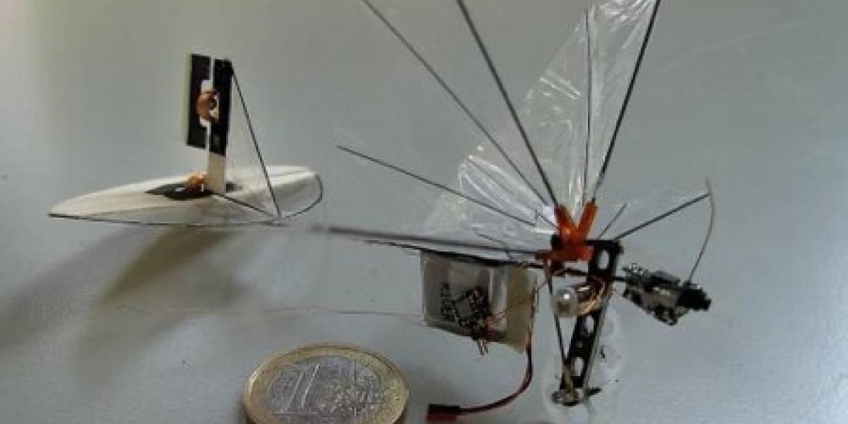 DelFly Micro: Libélula radiocontrolada de 3 gramos de peso