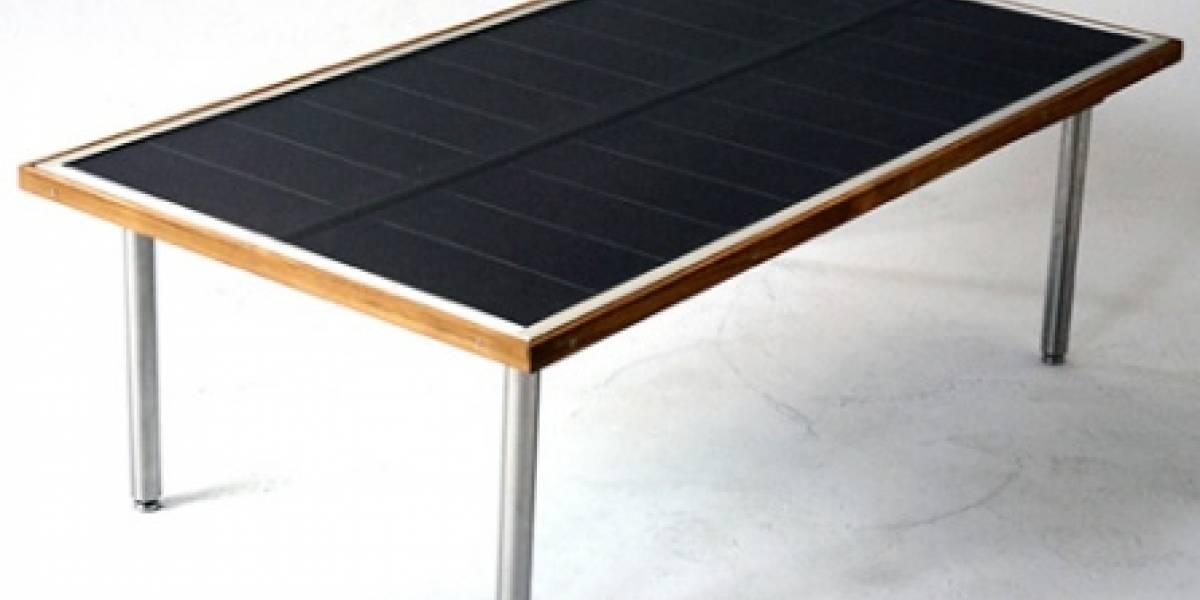 SunTable: Mesa solar para conectar todos tus gadgets