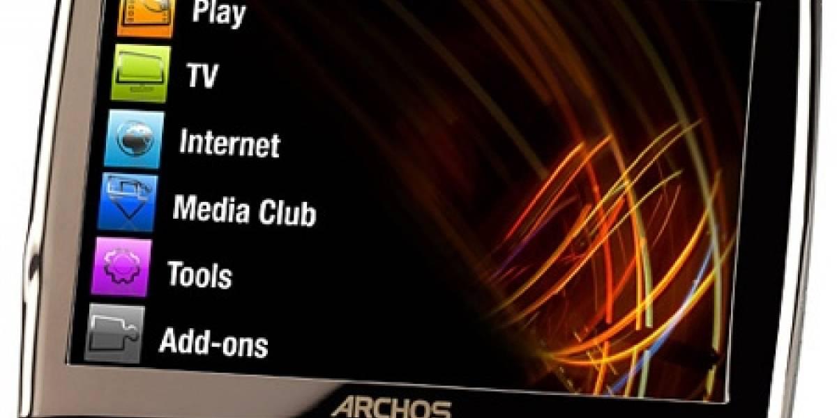 """Las nuevas """"Internet Media Tablets"""" de Archos"""