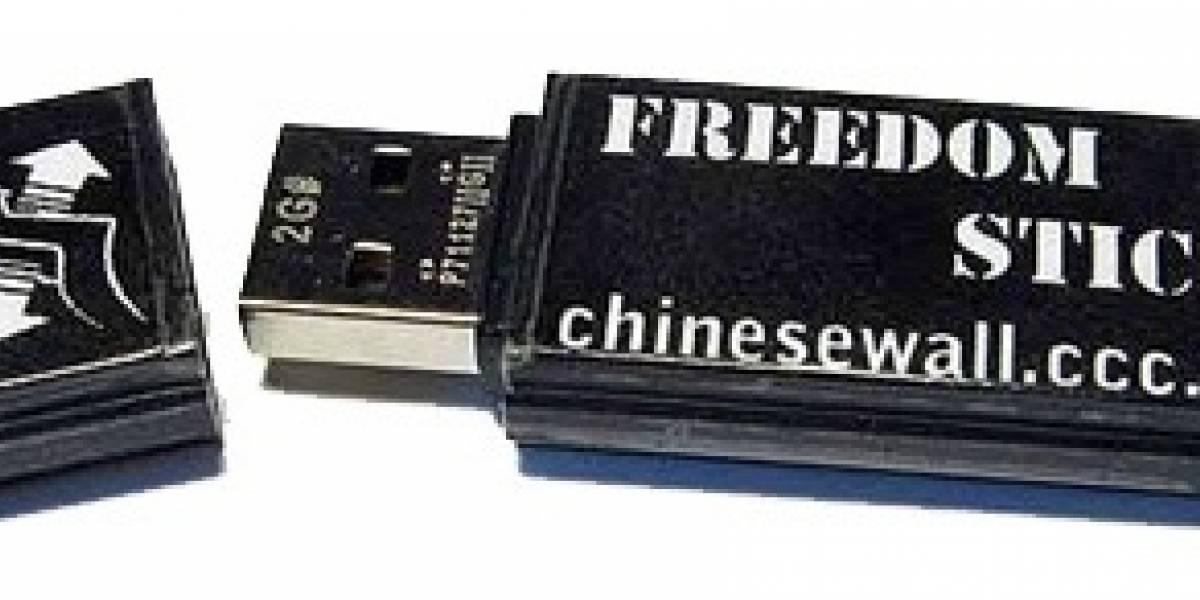 Freedom Stick: Memoria Flash para mantenerse anónimo
