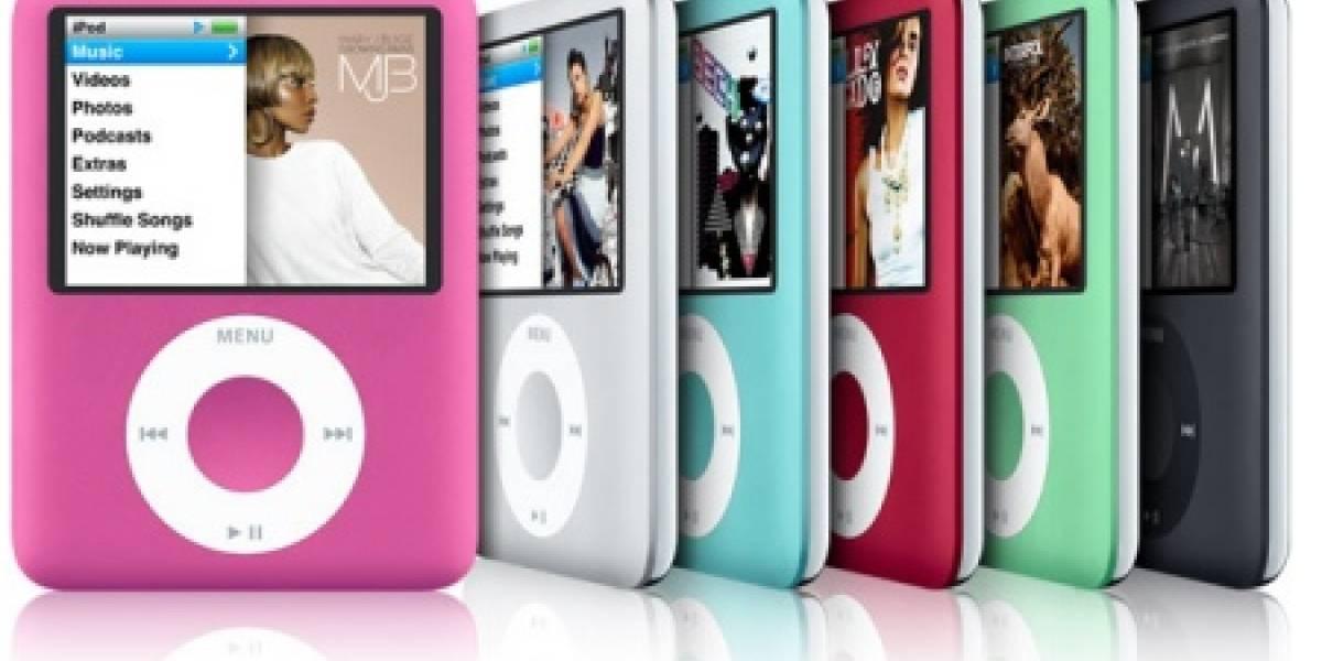 El iPod nano cambia de forma