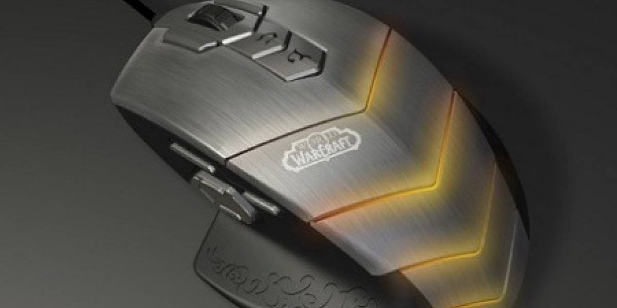 SteelSeries anuncia su mouse con 15 botones programables para World of Warcraft