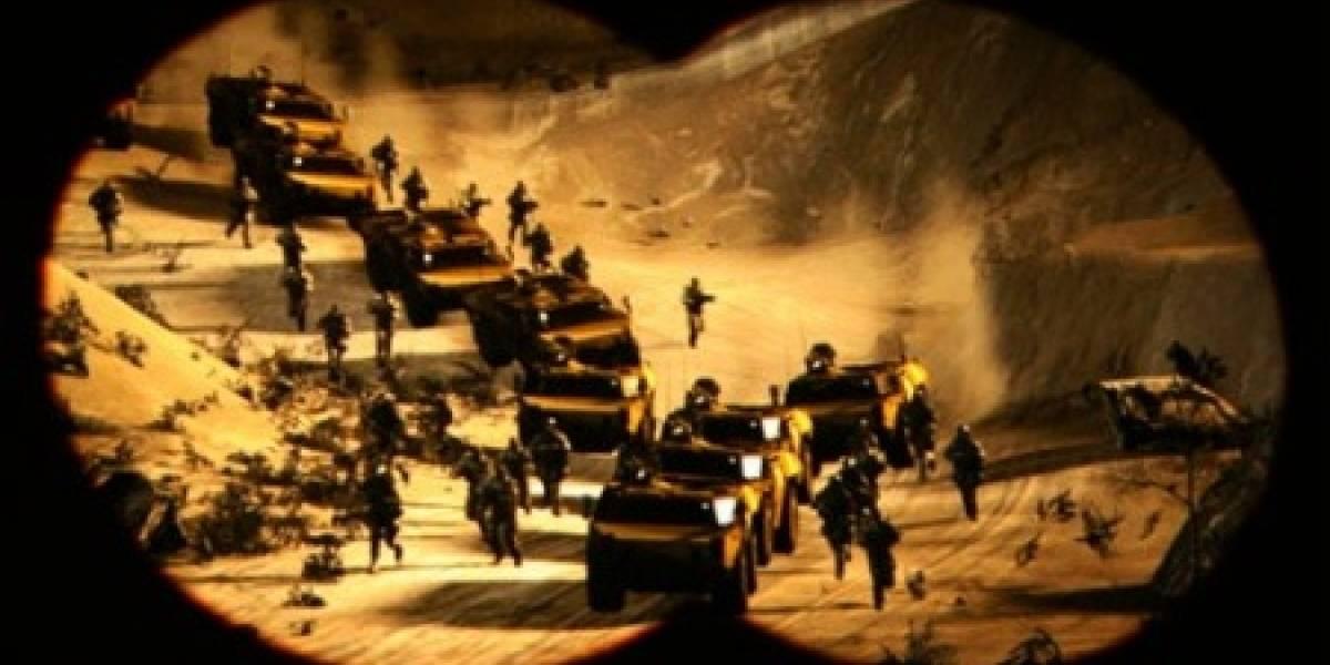 MAG: Sony presenta su juego de guerra para hasta 256 participantes