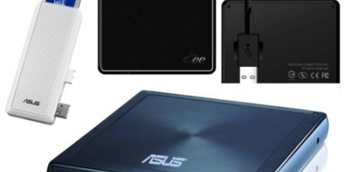 Los nuevos accesorios Eee PC de ASUS