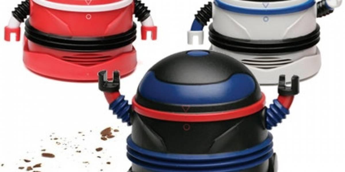 Mini-aspiradora robot