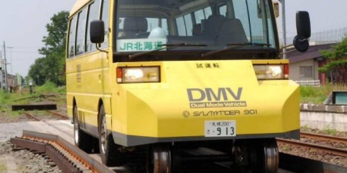 El tren-bus japonés