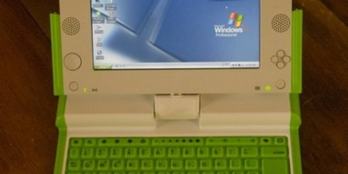 Windows XP ya corre en el OLPC XO