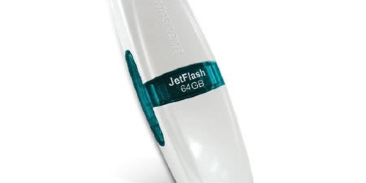 Transcend JetFlash V20: 64GB en tu bolsillo