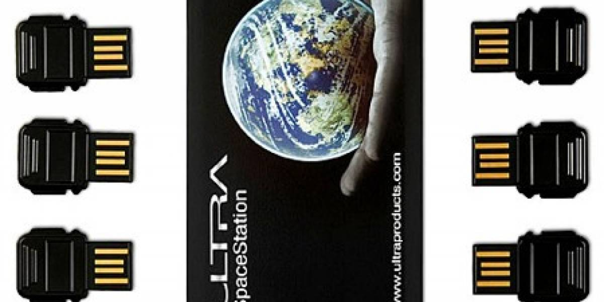 Space Station: Seis discos USB en una tarjeta
