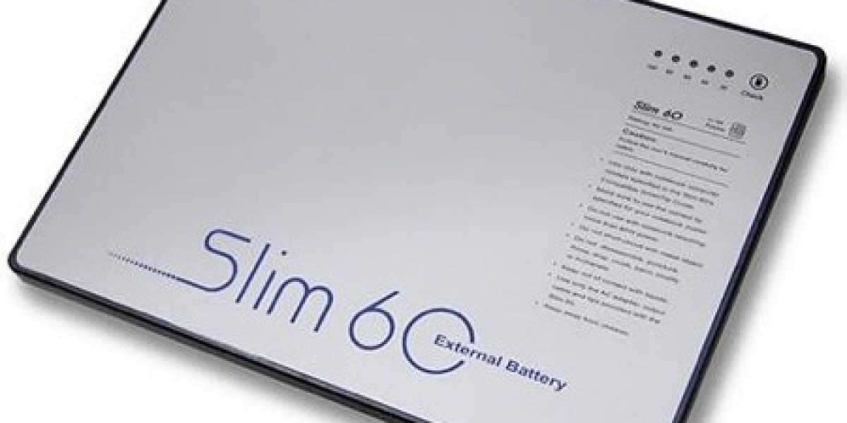 Slim 60: Batería de respaldo para tu portátil