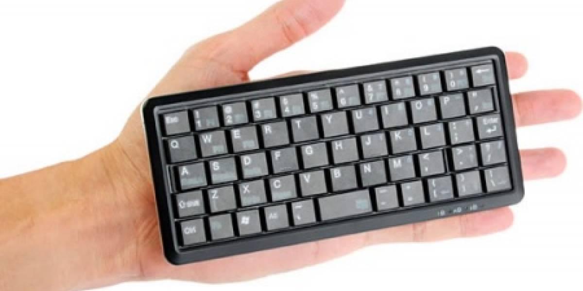 Super-Tiny Keyboard: Un teclado muy pequeño de Brando