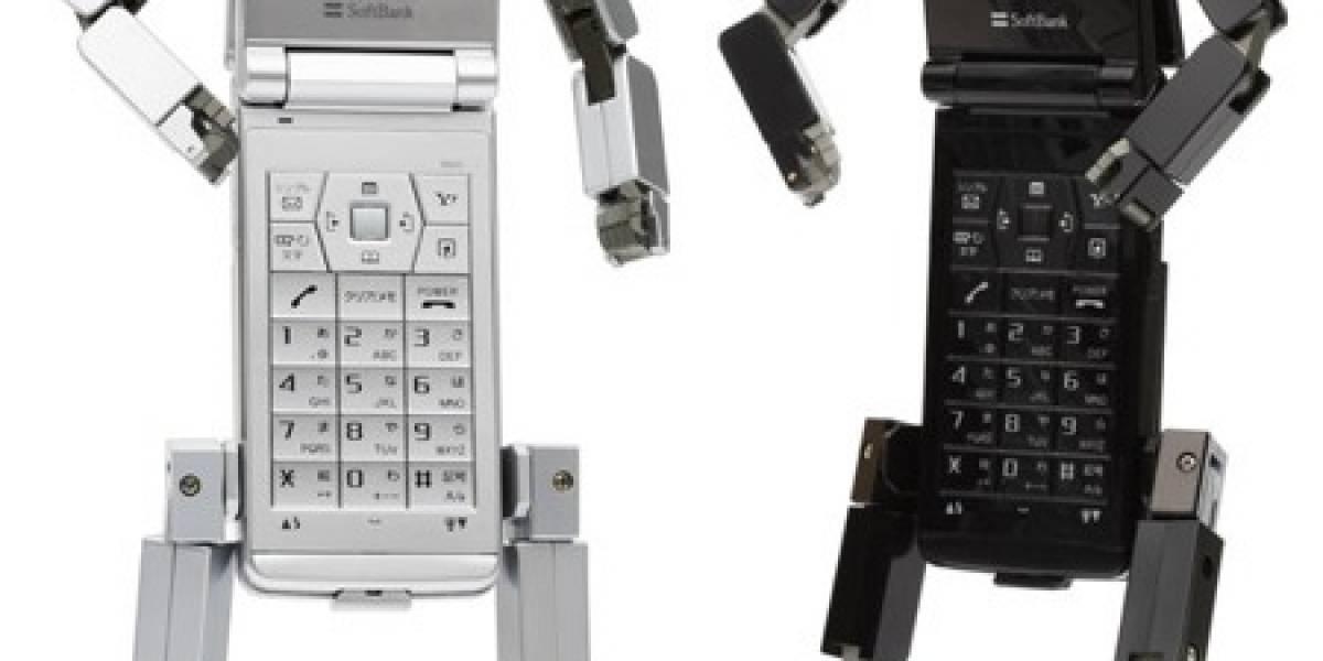 Softbank 815T PB: El primer celular-robot 3G