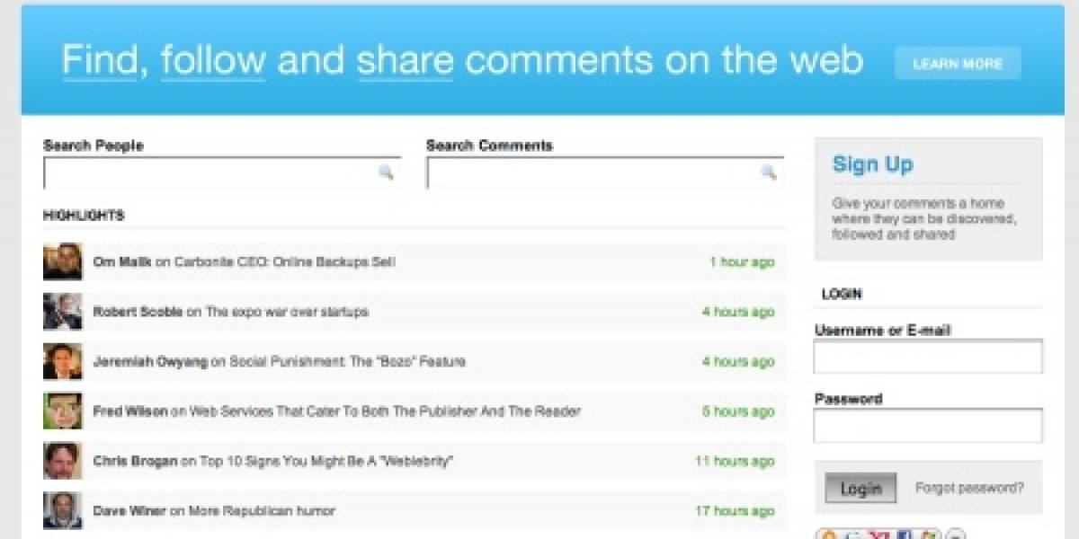 BackType: Encuentra, sigue y comparte comentarios en la web