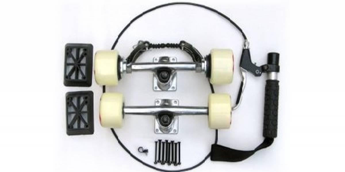 SkateBrake: Freno de mano para tablas de skateboard