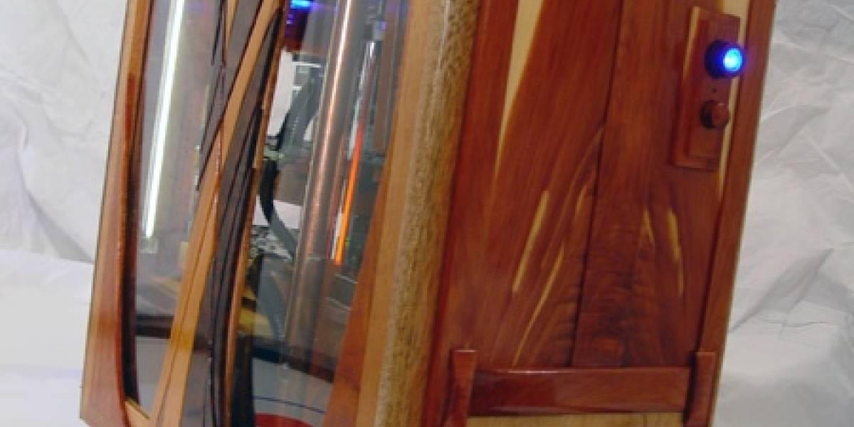 FiveWood: Carcasa de madera para PC
