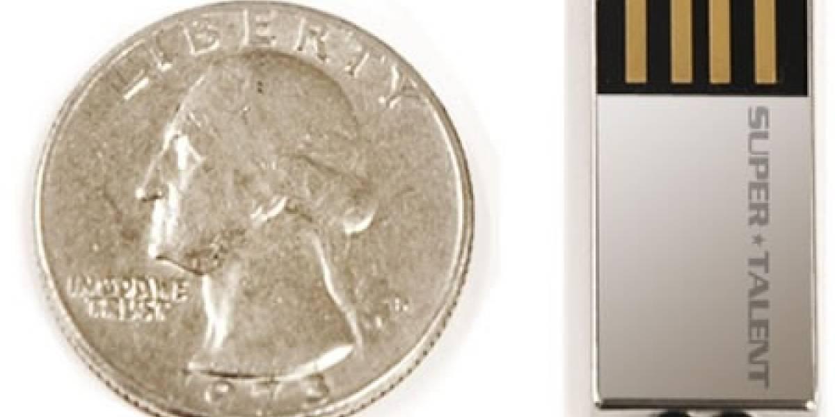 Super Talent lanza el disco USB de 8GB más pequeño del mundo