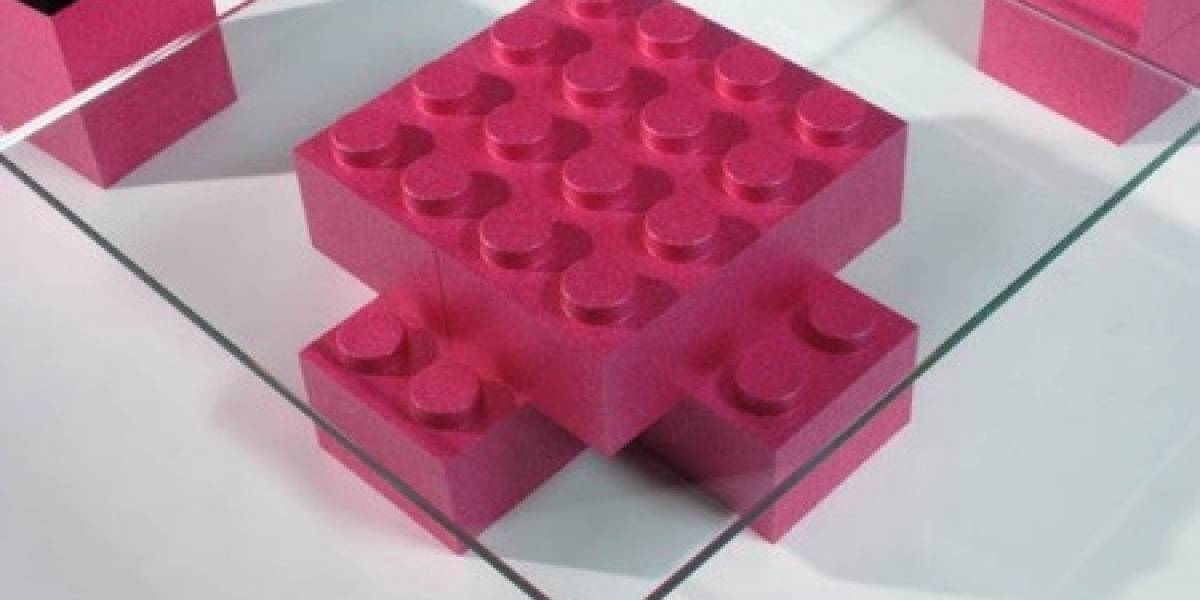 LunaBlocks: Para hacer muebles con bloques lego