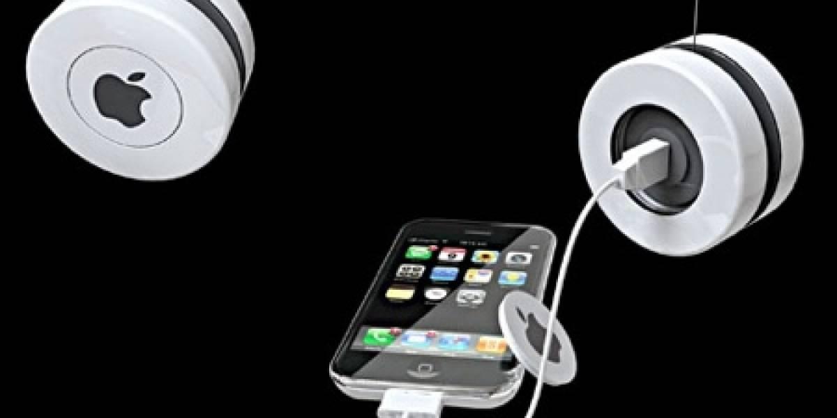 iYo: Cargador yo-yo para el iPhone