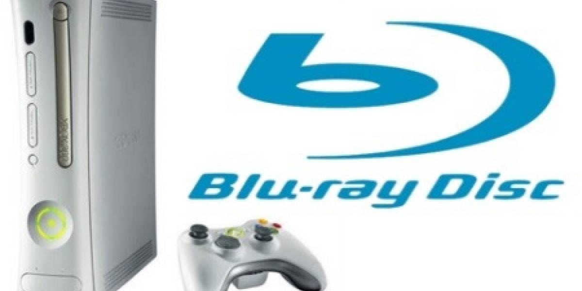 El lector Blu-ray externo para la Xbox 360 sería un hecho