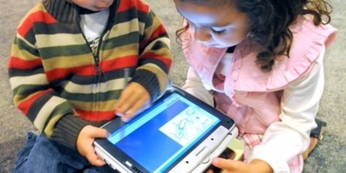 FW Live @ IDF 2008: Nuevo Intel Classmate tiene pantalla táctil y procesador Atom