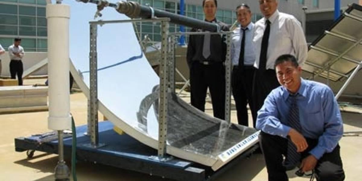 Haciendo hielo con la ayuda del sol y sin emisiones