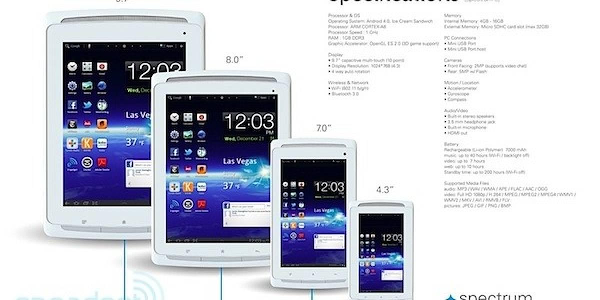 CES 2012: Polaroid lanzará cuatro tablets con ICS en 2012 [actualizado]
