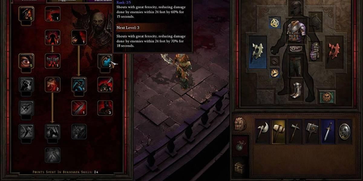 Blizzard muestra la Interfaz de Usuario para Diablo III