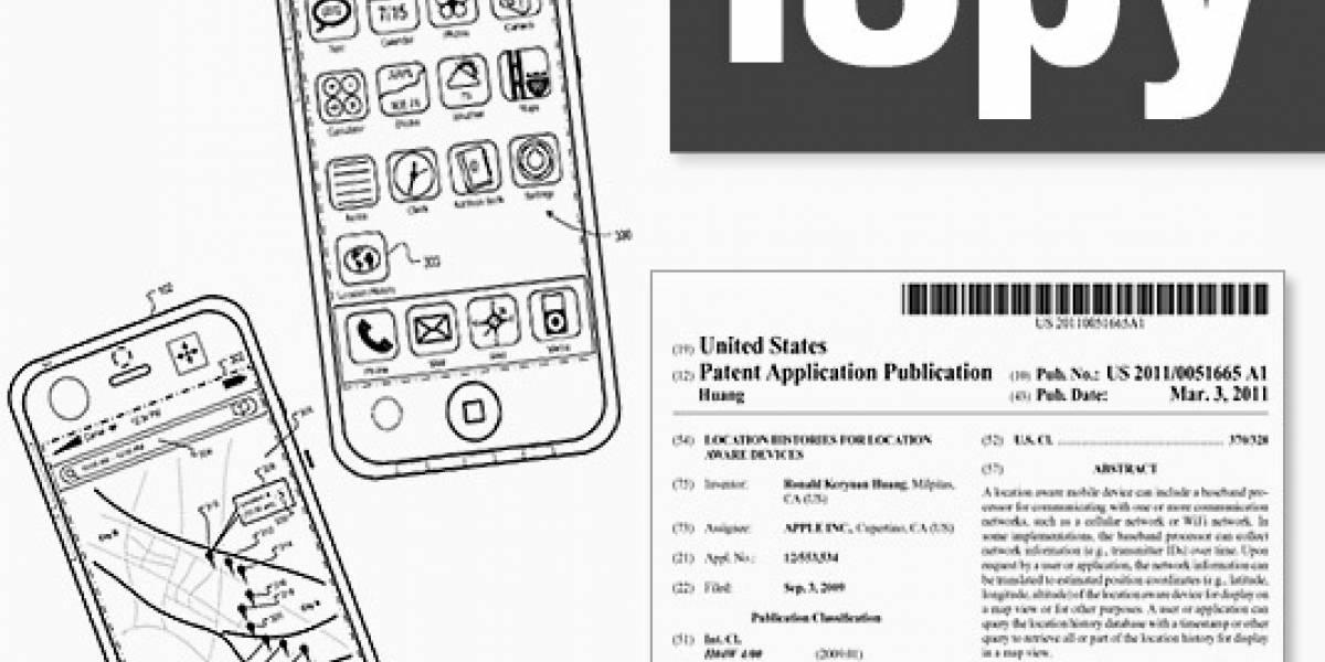 Patente de Apple revela un plan de espionaje mucho más amplio