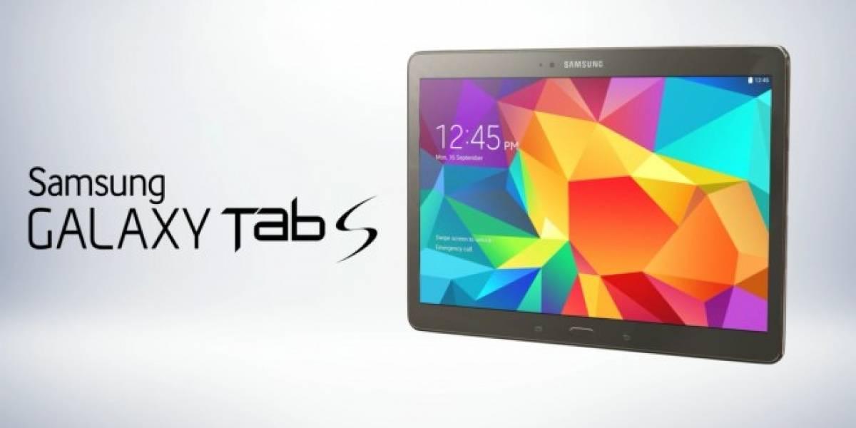 Samsung Galaxy Tab S 10.5 comienza a recibir a Android Lollipop en Europa