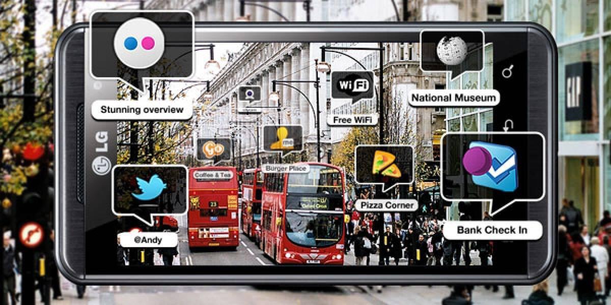 Wikitude pone realidad aumentada al LG Optimus 3D