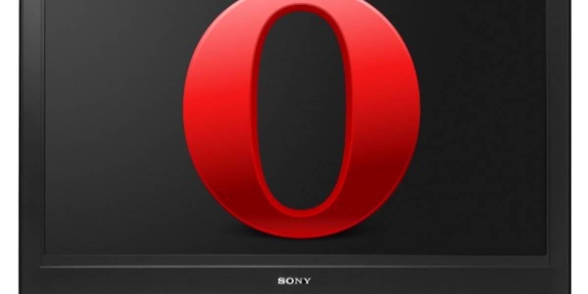 Navegador Opera llegará a las TVs de Sony