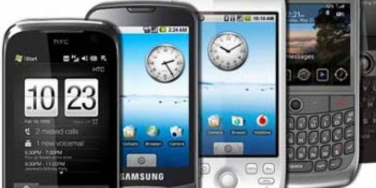 ¿Cómo fueron las ventas de smartphones durante el 2010?