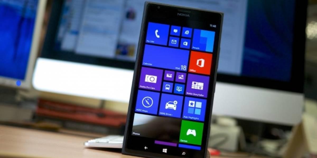 Los nuevos Lumia de gama alta podrían llegar con escáner de iris