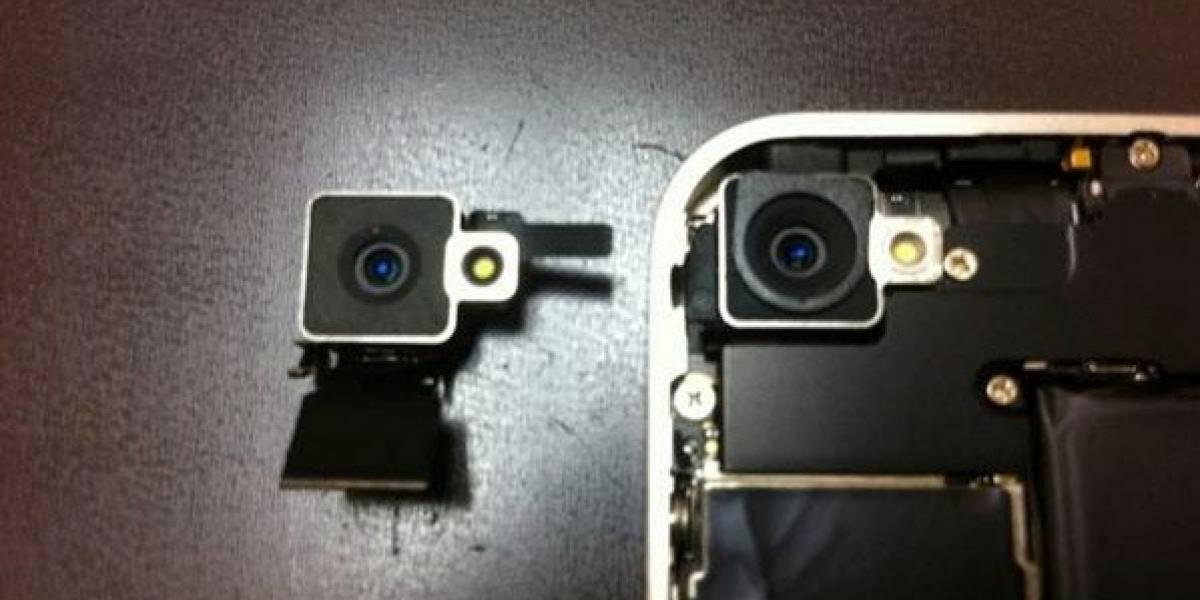 ¡Epa! La cámara del iPhone 4 blanco es distinta a la del negro
