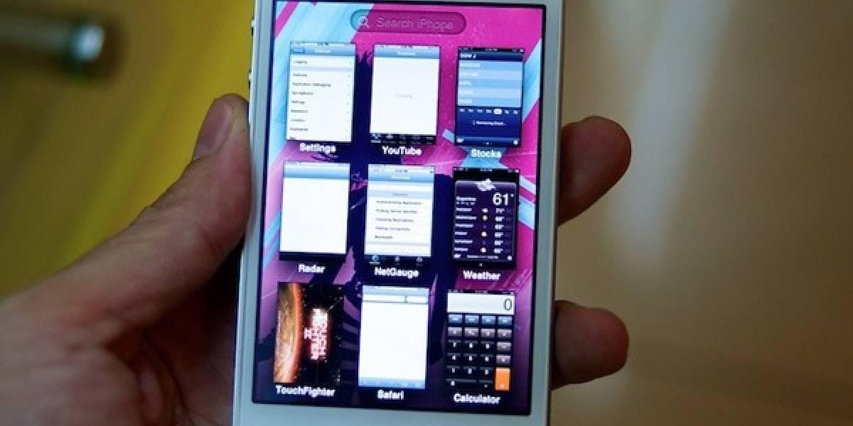 ¿El iPhone blanco con iOS 5, nueva interfaz y exposé?
