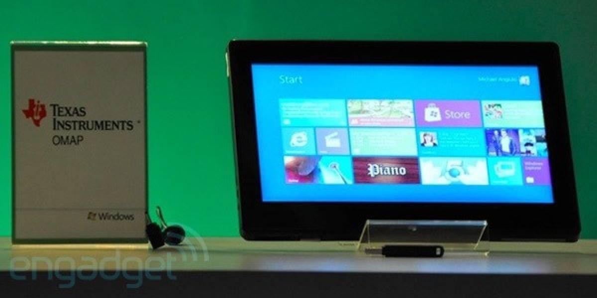 Microsoft lanzaría un tablet con W8 en 2012