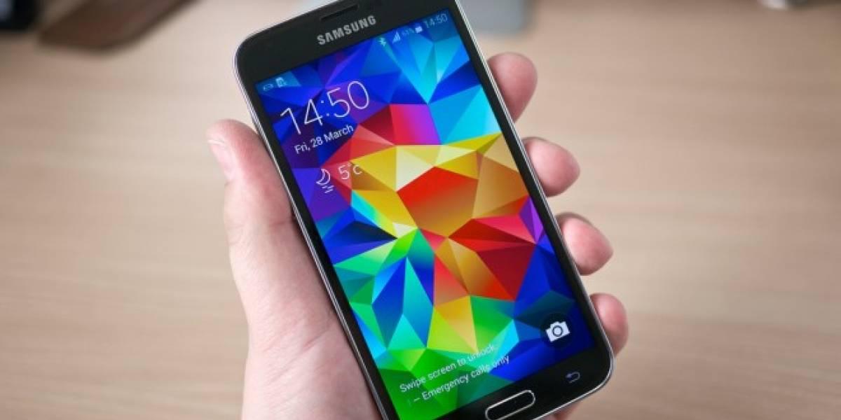 Hackers podrían crear una copia de tu huella digital si usas un Galaxy S5