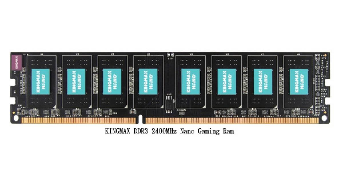 Kingmax presenta primer modulo de memoria DDR3-2400 sin heatsink