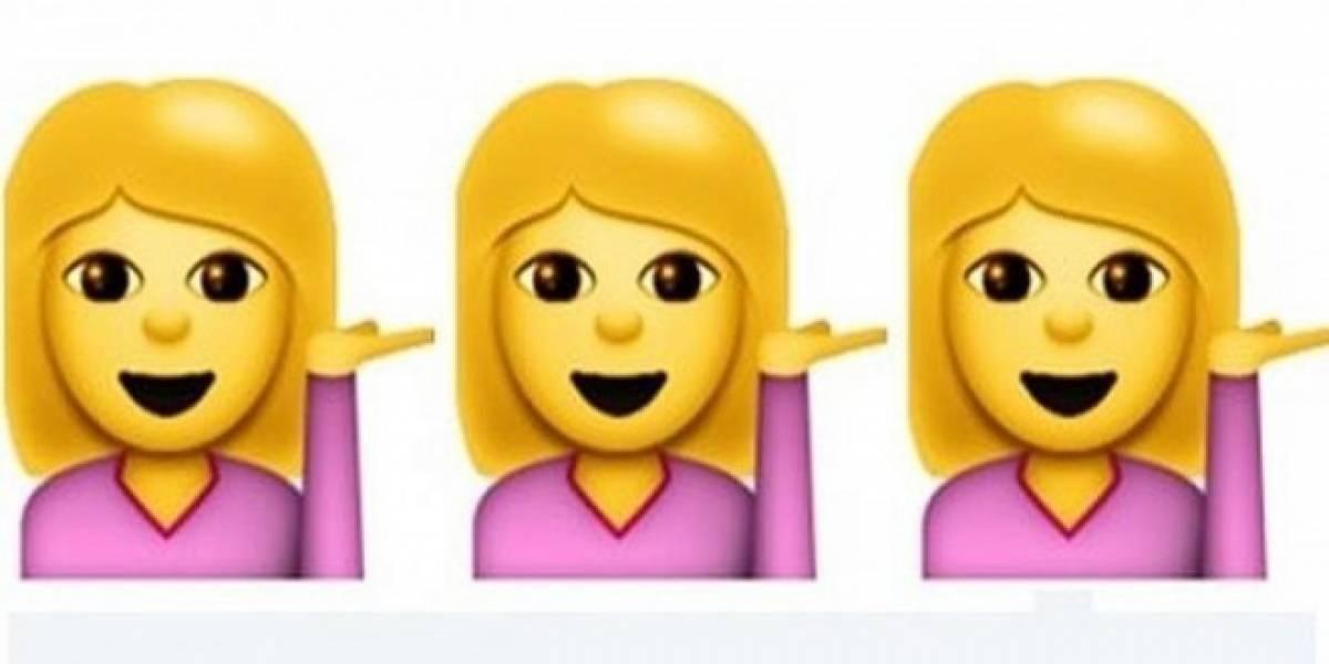 Google propone emojis que representen a las mujeres profesionales