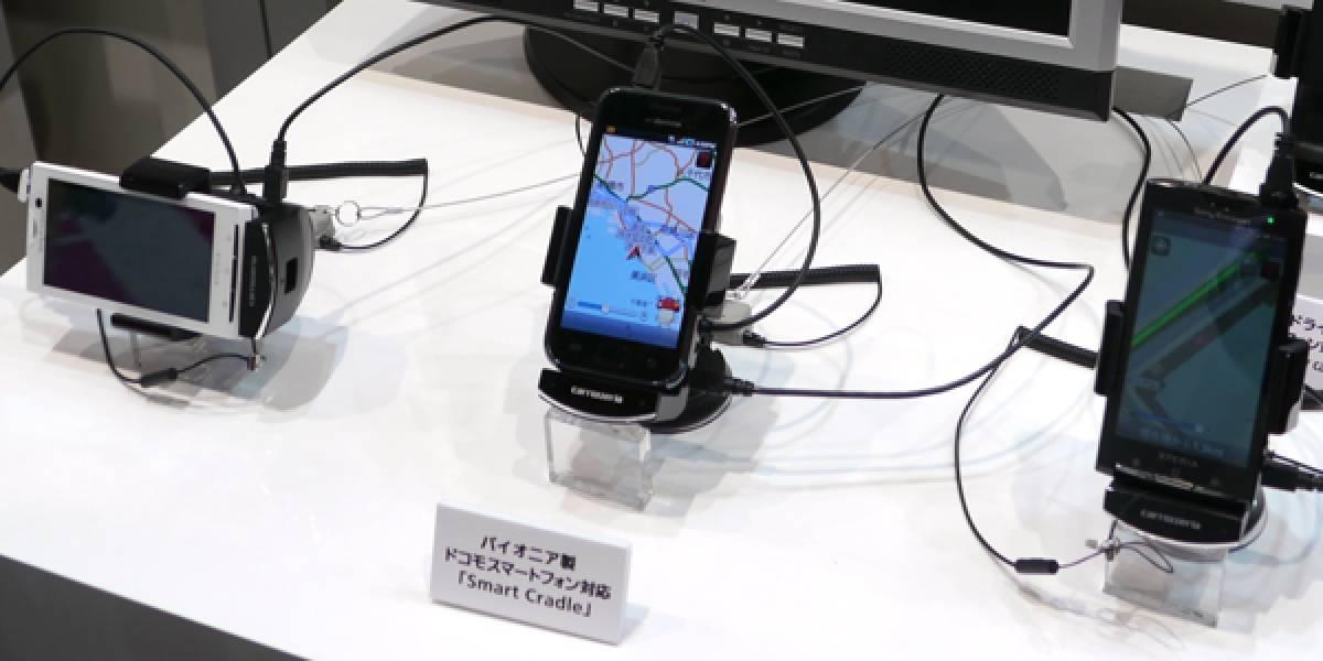 Pioneer lanza GPS Smart Cradle Carrozzeria para smartphones con Android