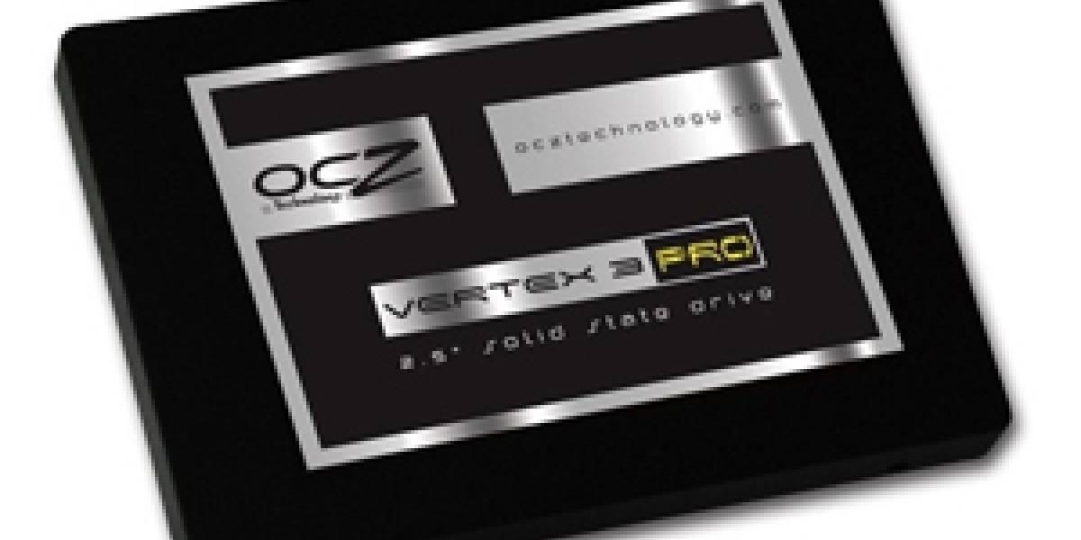 [CES2011] OCZ anuncia sus SSDs Vertex 3 Pro de 550MB/s y 525MB/s