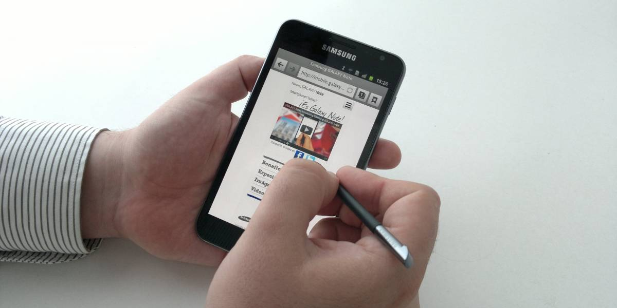 Samsung Galaxy Note: La apuesta que une el poder del teléfono y el tablet