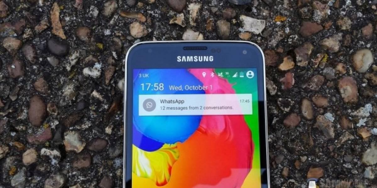 Samsung Galaxy S5 comienza a recibir Android Lollipop en Chile y el resto de LATAM